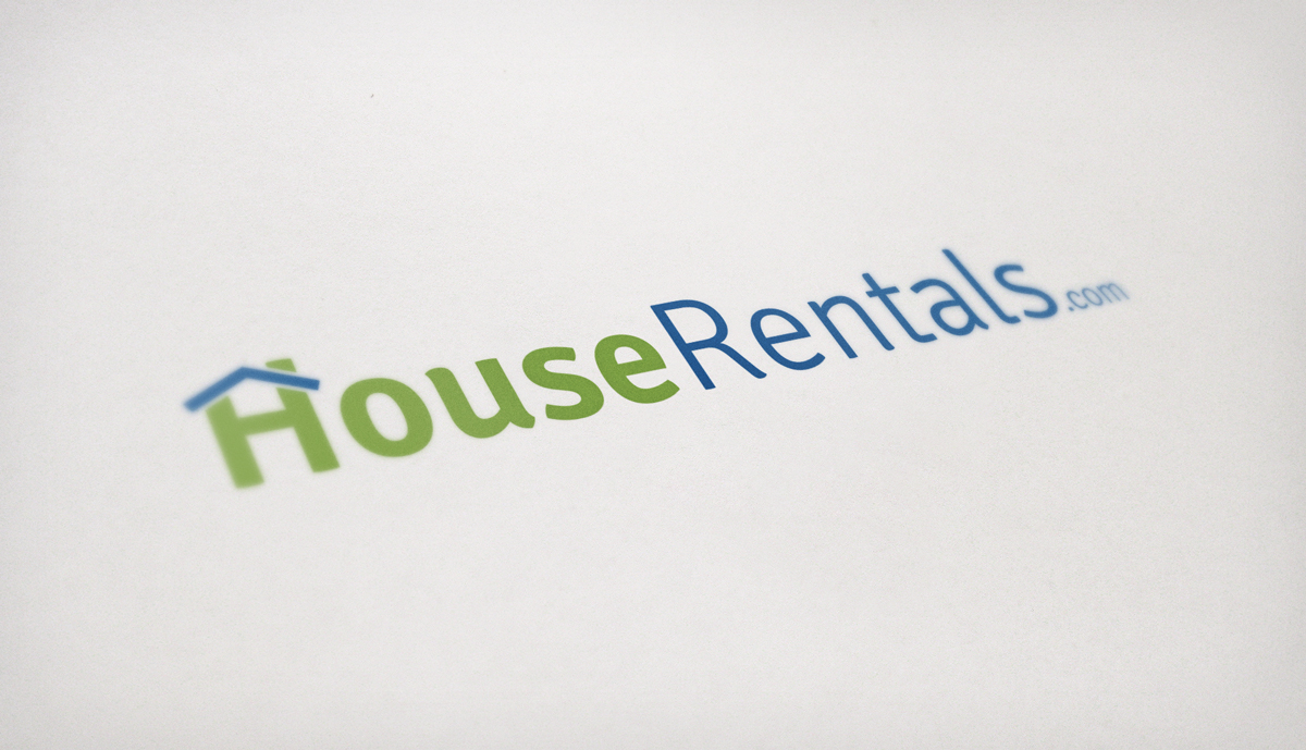 HouseRentals.com Logo Design