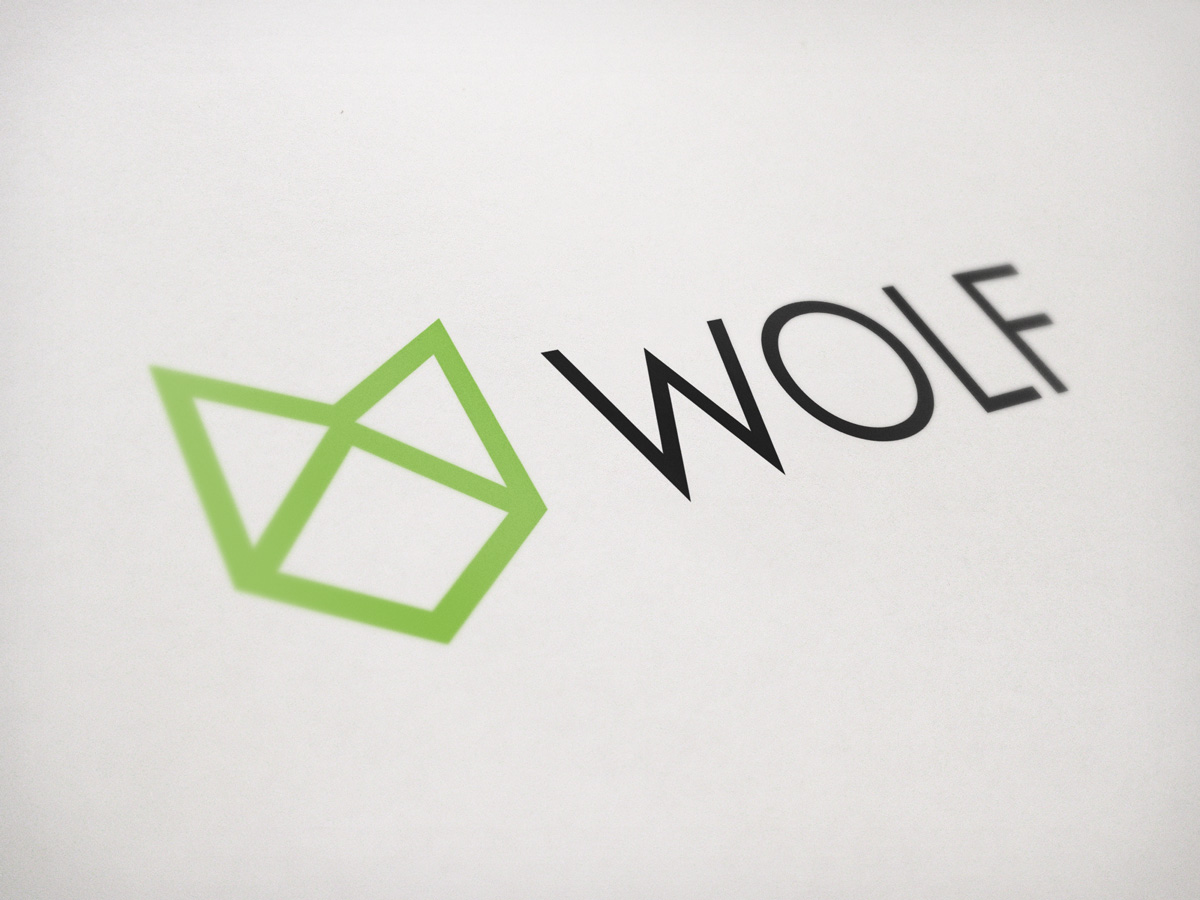 Wolf Pipes Logo Design