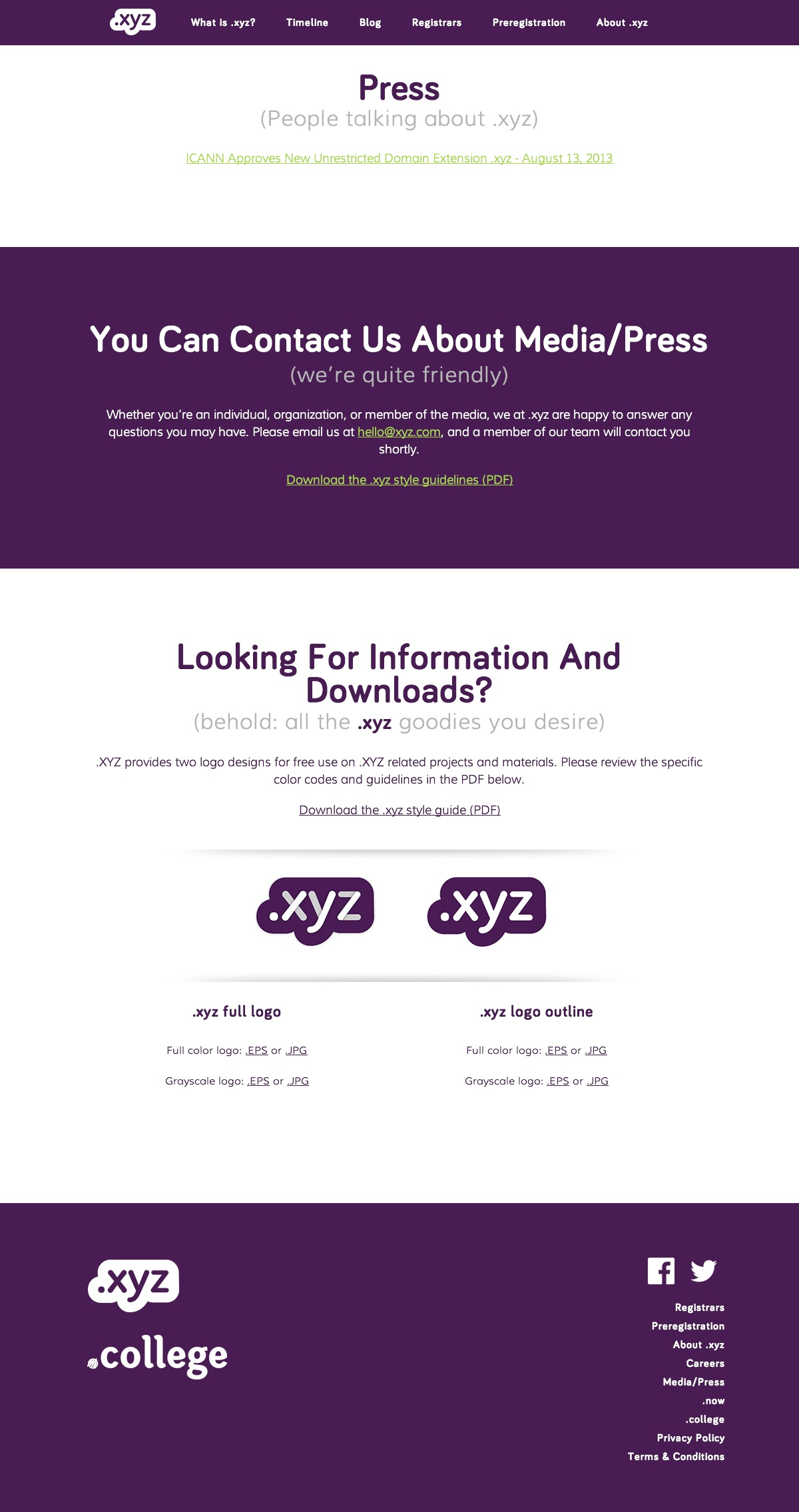 XYZ Web Design